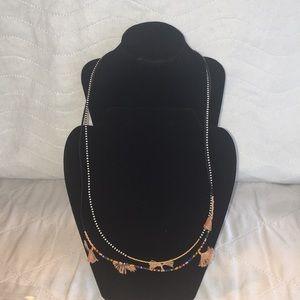 NWOT SHASHI Lilu Layered Red Necklace